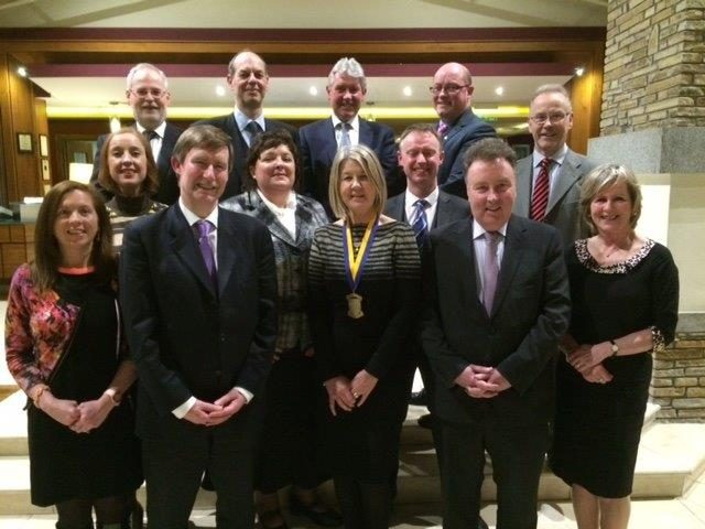 Bar Association visit by Law Society President